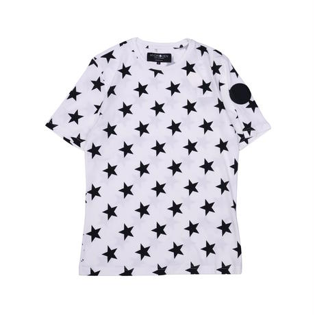 HYDROGEN ALLOVER STARS T-SHIRT(WHITE)