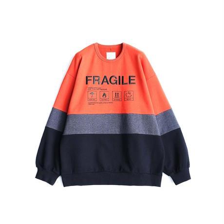 SHAREEF SWITCHING BIG SWEAT(Orange)