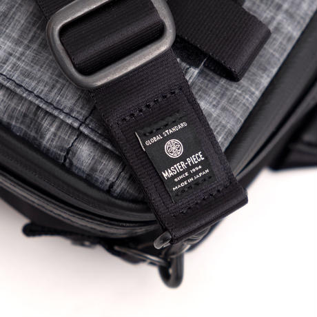 MofM(man of moods) MSPC×MOUNTAIN OF MOODS FIELD POUCH(BLACK×GRAY)