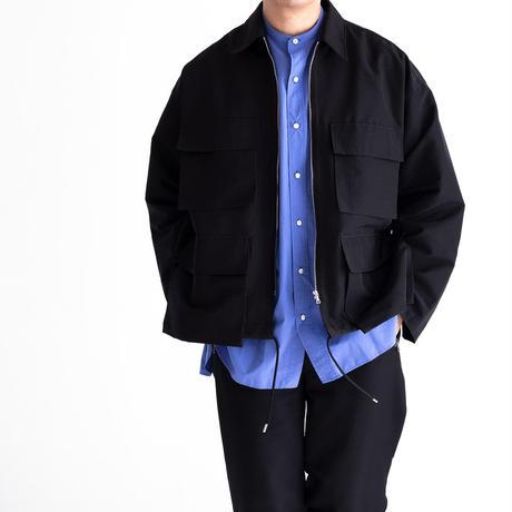 UNITUS Military Shirt Jacket(Black)