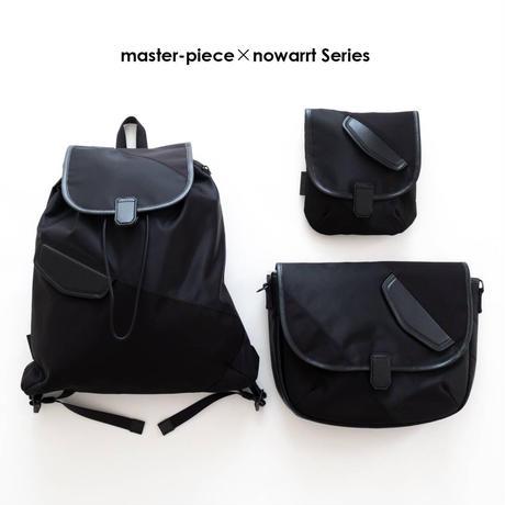 master-piece×nowartt ショルダーバッグ M(BLACK)