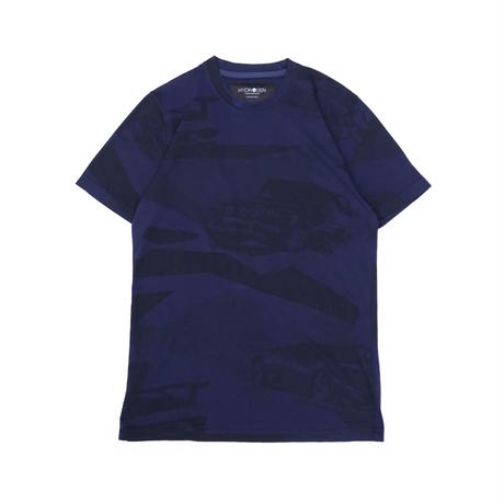 HYDROGEN CARS AND CAMO T-SHIRT(BLUE CAMOUFLAGE)
