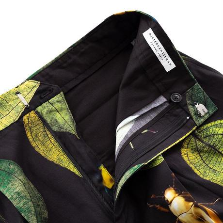 MISTERGENTLEMAN KOGANEMUSHI HIGH WAIST TUCKED SHORT(BLACK)