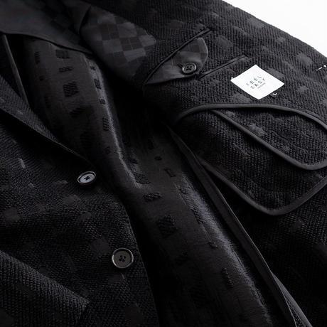 FEEL EASY ORIGINAL SHADOW CHECK JACKET(Black)