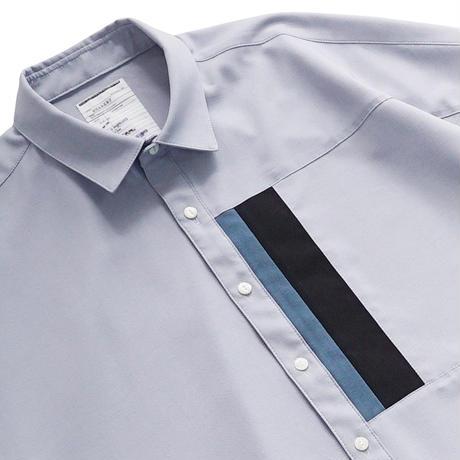 SHAREEF SWITCHING S/S SHIRTS(Ice Blue)