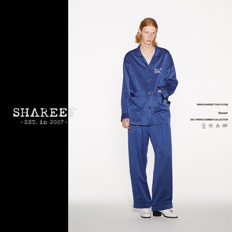 SHAREEF STRIPE PAJAMAS SHIRTS(Blue)