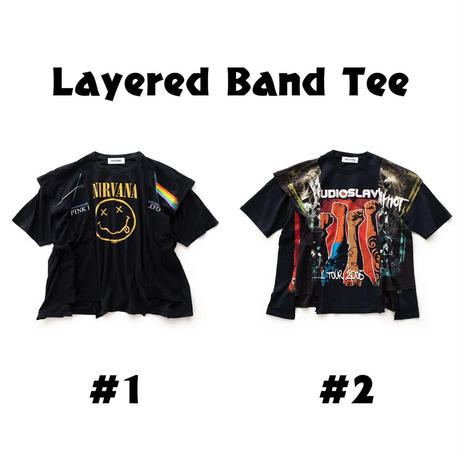 DISCOVERED Layered Band Tee(#1)