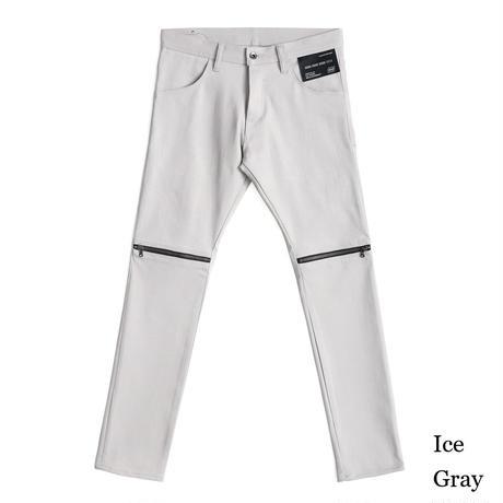 SHAREEF ZIP-SLIT SKINNY(Ice Gray)