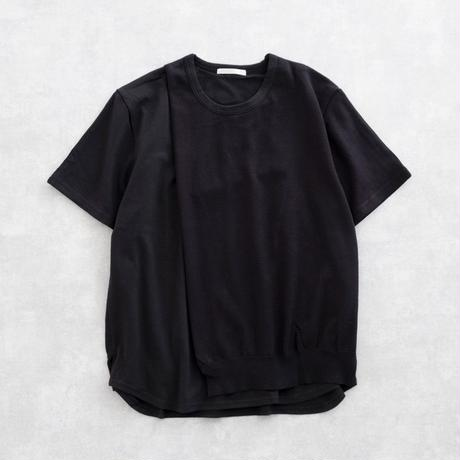 DISCOVERED KNIT ON CUTSEW(BLACK)