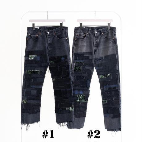 DISCOVERED Crust Denim Pants(#1/#2)