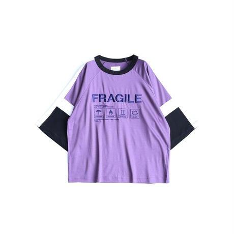 "SHAREEF ""FRAGILE"" SWITCHING BIG-T(Mokha Pink)"
