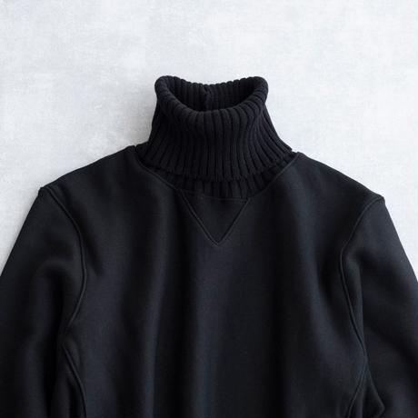 DISCOVERED KNIT TURTLE SWEAT(BLACK)