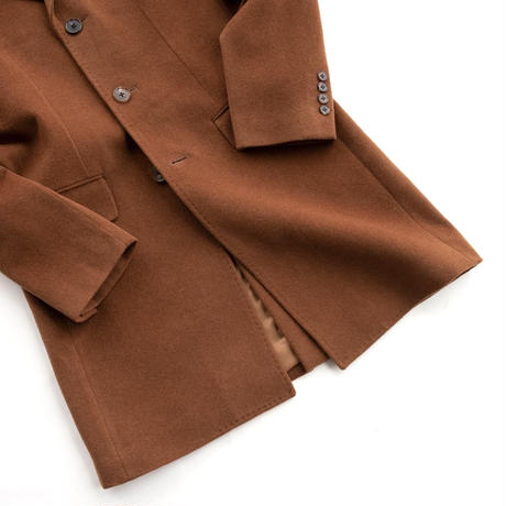 FEEL EASY ORIGINAL WOOL CASHMERE CHESTER COAT(Camel)
