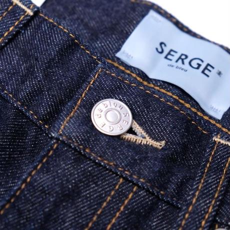 SERGE DRY TAPERED(INDIGO)
