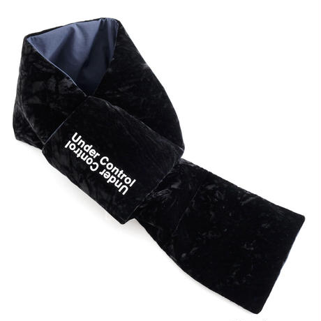 DISCOVERED VELOUR DOWN MUFFLER(BLACK)