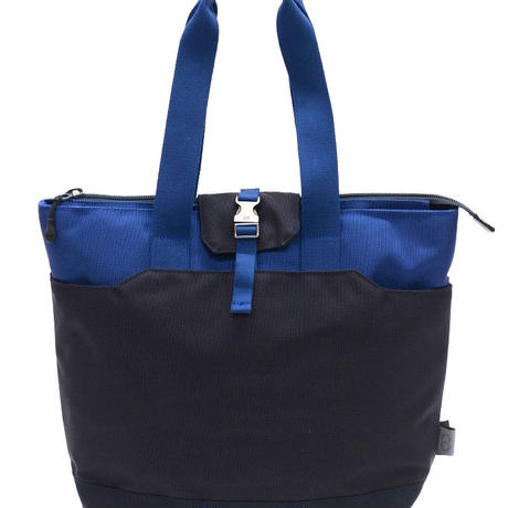 C6 Longhandle North South Tote Multi Durable Nylon(Navy×Blue)