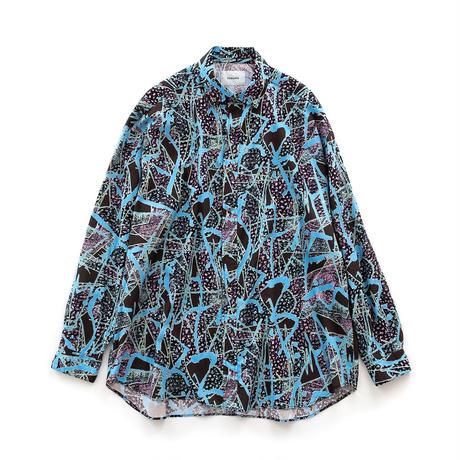 Iroquois BEAST OVERSIZE SH(BLUE×BLACK)