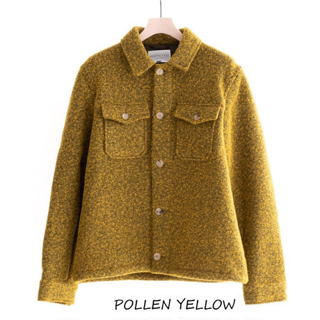 KESTIN HARE FIELD OVERSHIRT(POLLEN YELLOW)