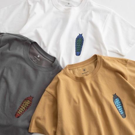Snow Peak Printed Tshirt Bacoo(White/Gray Khaki/Mustard)
