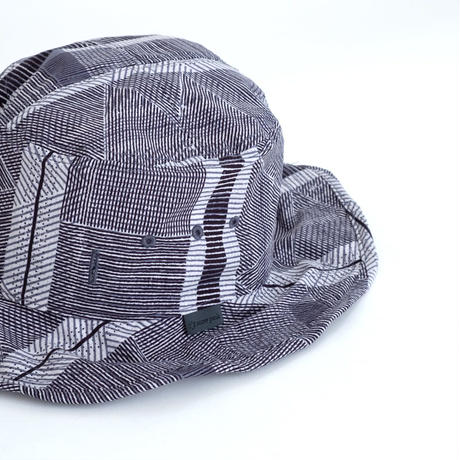 Snow Peak Printed Quick Dry Hat(Ecru Navy)