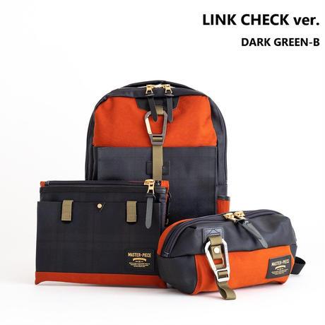 master-piece LINK CHECK ver. ウエストバッグ(DARK GREEN-B)