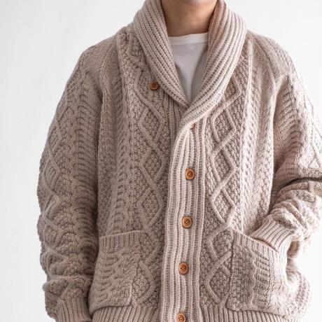 Snow Peak Alpaca Knit Cardigan(Ecru)