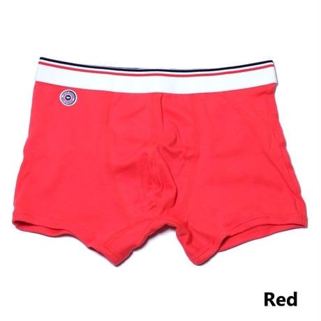 Le Slip Francais Permanent Cotton Boxer Briefs(Red)