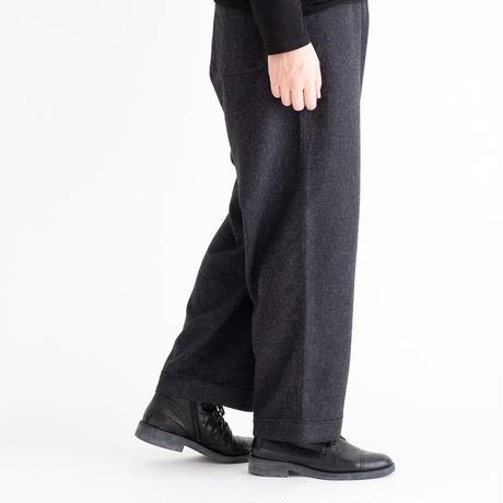 THE INOUE BROTHERS×Snow Peak Royal Alpaca Pyjamas Pants(Dark Gray)