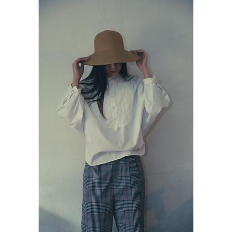 【WOMEN'S】THE FACTORY マドラスチェックコットンパンツ(White×Black)  のコピー