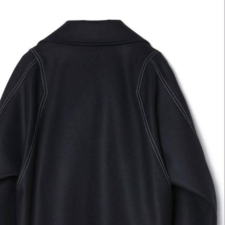 IRENISA MODIFIED SLEEVE ZIP BLOUSON(BLACK)