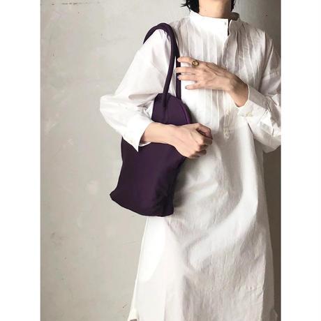 【WOMEN'S】THE FACTORY シルババッグ オーバルミニ(O.White/Marine Blue/Purple/Gray/Antique Rose)