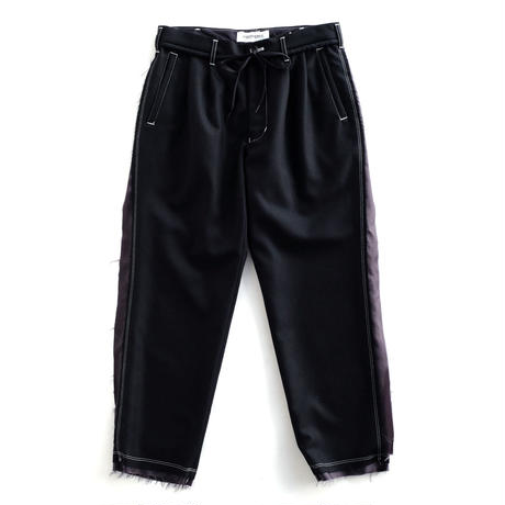 DISCOVERED FLANNEL PANTS(BLACK)
