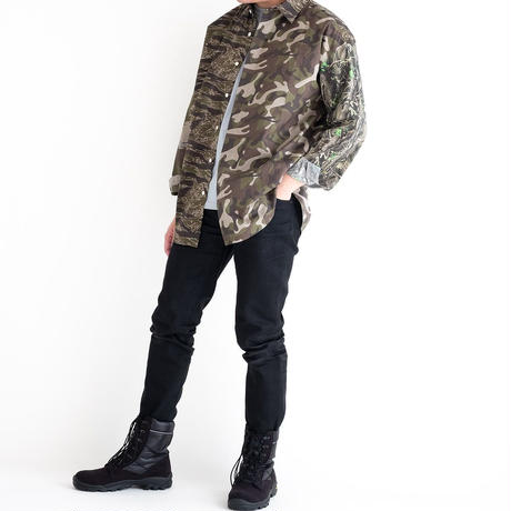 MISTERGENTLEMAN CAMO MODERN SHIRT(MIX)