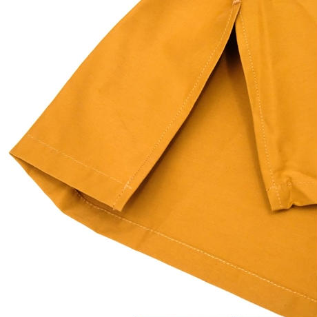 UNITUS Open Collar Big Shirt(Yellow)