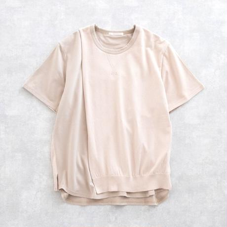 DISCOVERED KNIT ON CUTSEW(BEIGE)