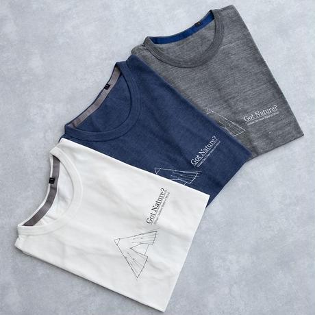 MofM(man of moods) オリジナルTシャツ Got Nature?(WHITE/NAVY/GRAY)