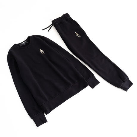 HYDROGEN SKULL SWEATPANTS(BLACK)
