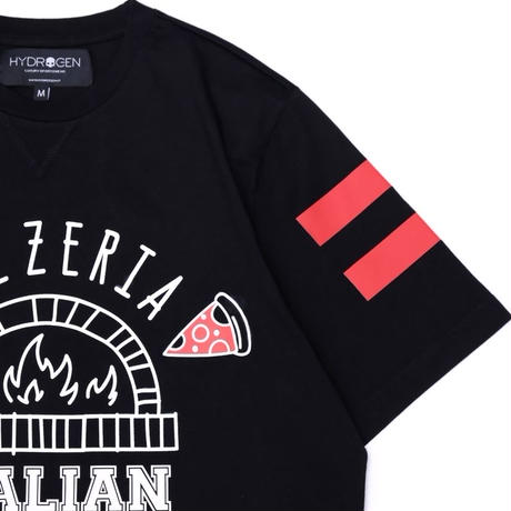 HYDROGEN HOCKEY LTD T-SHIRT PIZZERIA(BLACK)