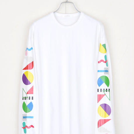 DISCOVERED STICK OUT LONG TEE(WHITE)