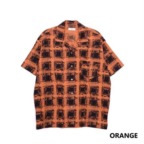 Iroquois K.Y.Rオンブレチェックシャツ(ORANGE)
