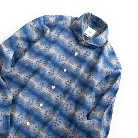 FEEL EASY ORIGINAL TRIVAL JACQUARD SHIRT(Blue)