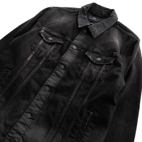 LTB SANTINO WILD SHADOW WASH BLOUSON(BLACK)