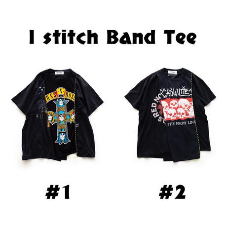 DISCOVERED I stitch Band Tee(#2)