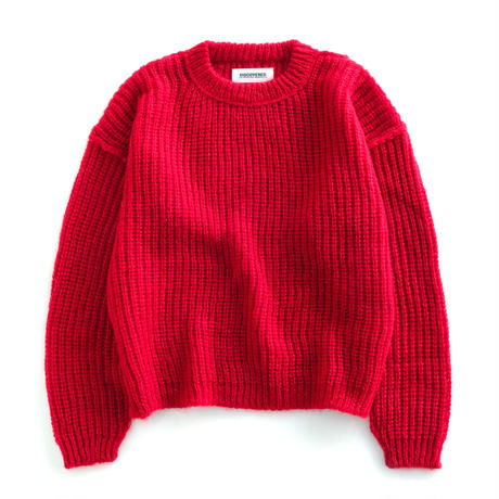 DISCOVERED KID MOHAIR KNIT(RED)