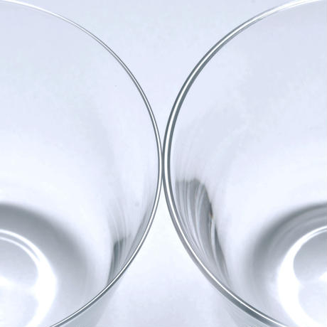 OWN thin glass tumbler