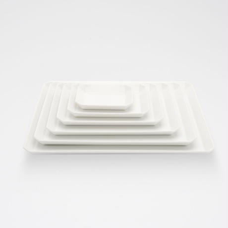1616 / TY  Square Plate 270 / White