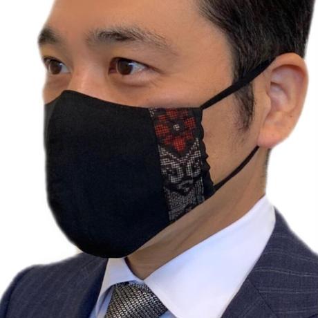 大島紬マスク(竜郷柄【S-15】