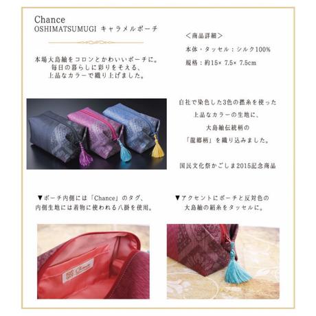 Chance TATSUGOキャラメルポーチ(ピンク)