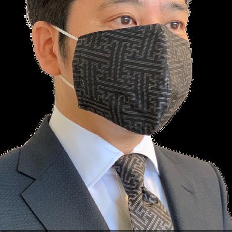 ②大島紬マスクカバー(龍郷柄)【S-05】