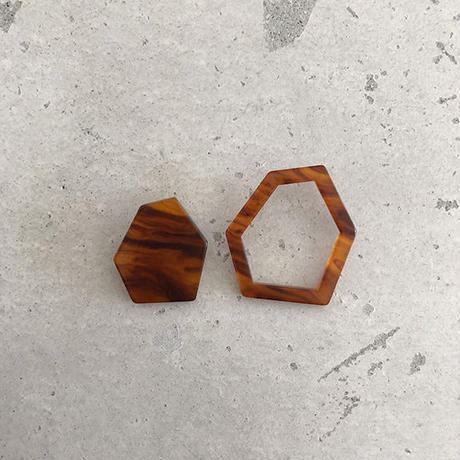 Hexagon large   pierce